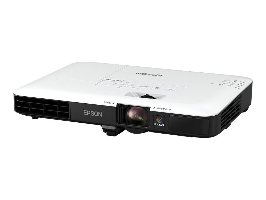 Epson EB-1780W - LCD-Projektor - tragbar - 3000 lm (weiss) - 3000 lm (Farbe) - WXGA (1280 x 800)