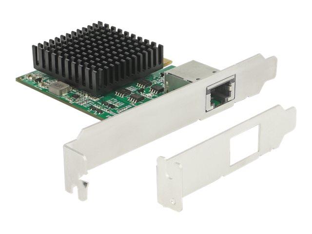 DeLock PCI Express Card > 1 x 10 Gigabit LAN NBASE-T RJ45 - Netzwerkadapter - PCIe 3.0 x4 - 10Gb Ethernet x 1
