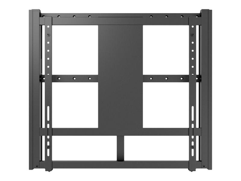 HAGOR M Motorized Wallmount HD 160 - Wandhalterung für LCD-/Plasmafernseher - Schwarz - Bildschirmgrösse: 213-279 cm (84