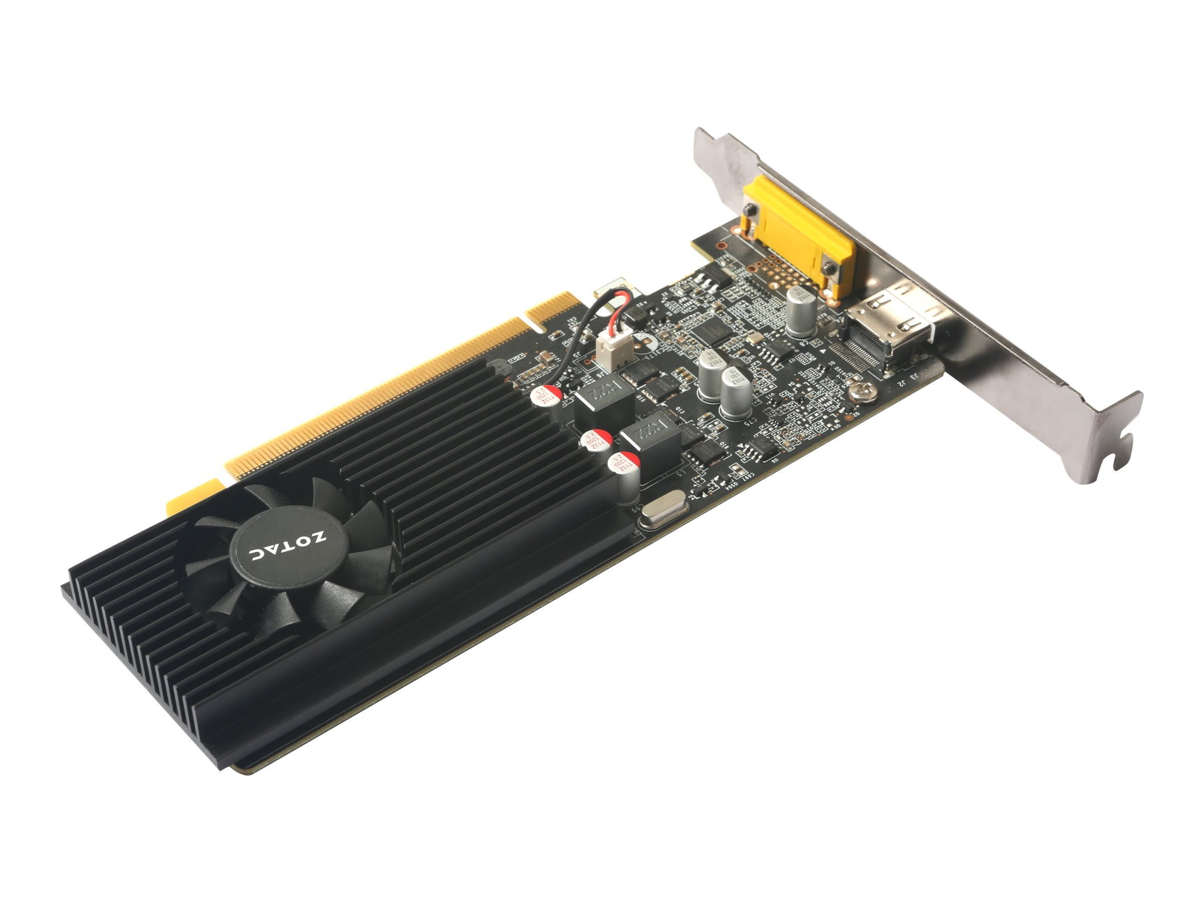 ZOTAC GeForce GT 1030 - Grafikkarten - GF GT 1030 - 2 GB GDDR5 - PCIe 3.0 x16 Low-Profile - HDMI, VGA
