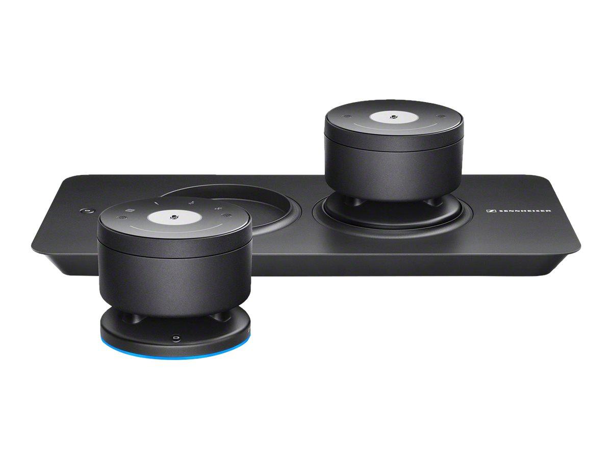 Sennheiser TeamConnect Wireless - Tray-M Set - Freisprechsystem - Bluetooth - kabellos (Packung mit 2)