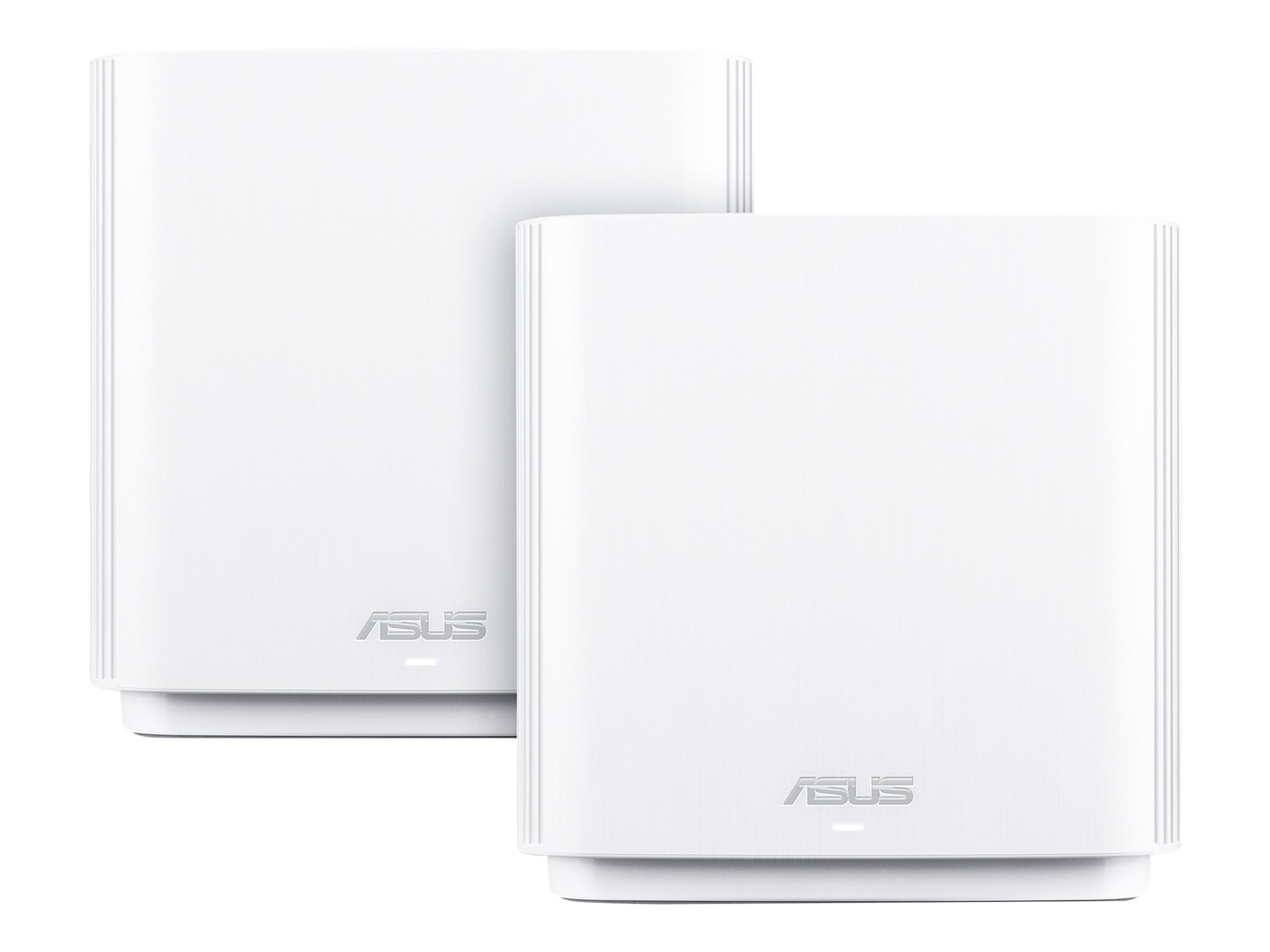 ASUS ZenWiFi AX (XT8) - WLAN-System (2 Router) - bis zu 510 m² - Netz - GigE, 2.5 GigE, 802.11ax - 802.11a/b/g/n/ac/ax