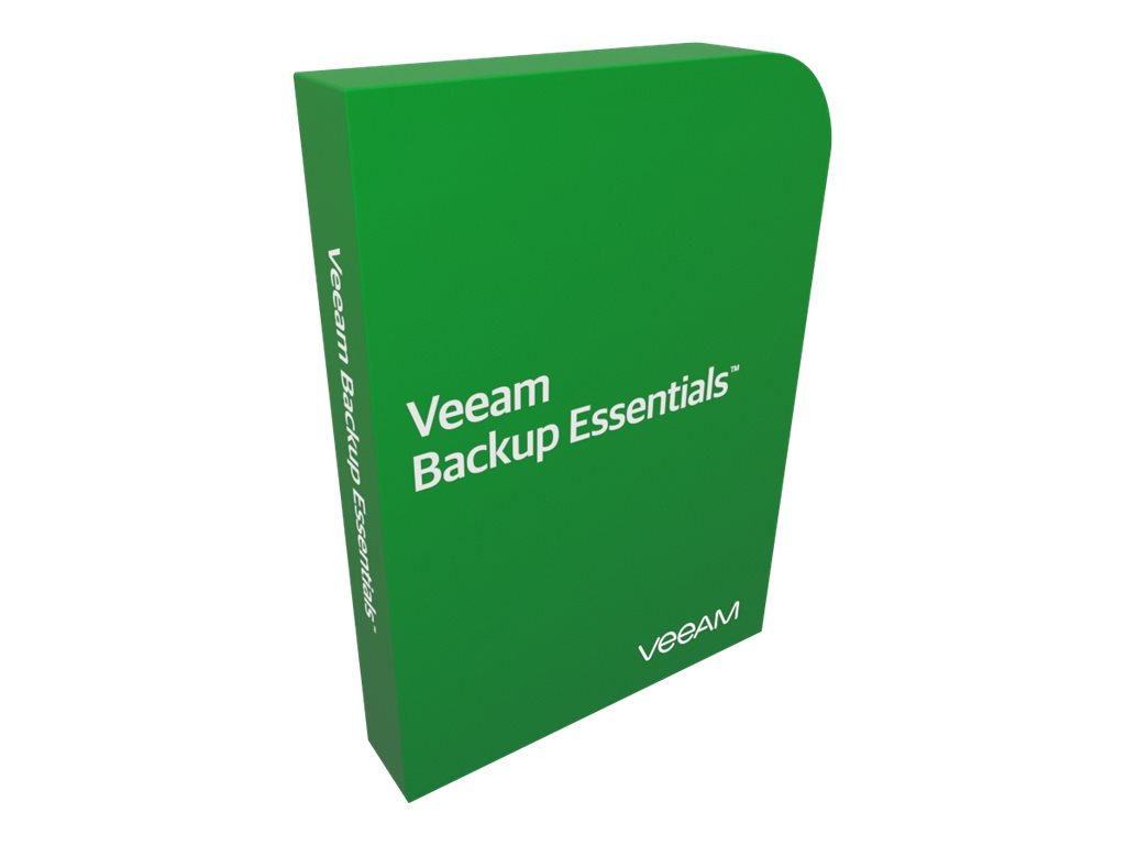 Veeam Standard Support - Technischer Support - für Veeam Backup Essentials Enterprise Plus Bundle for VMware - 2 Anschlüsse - vo