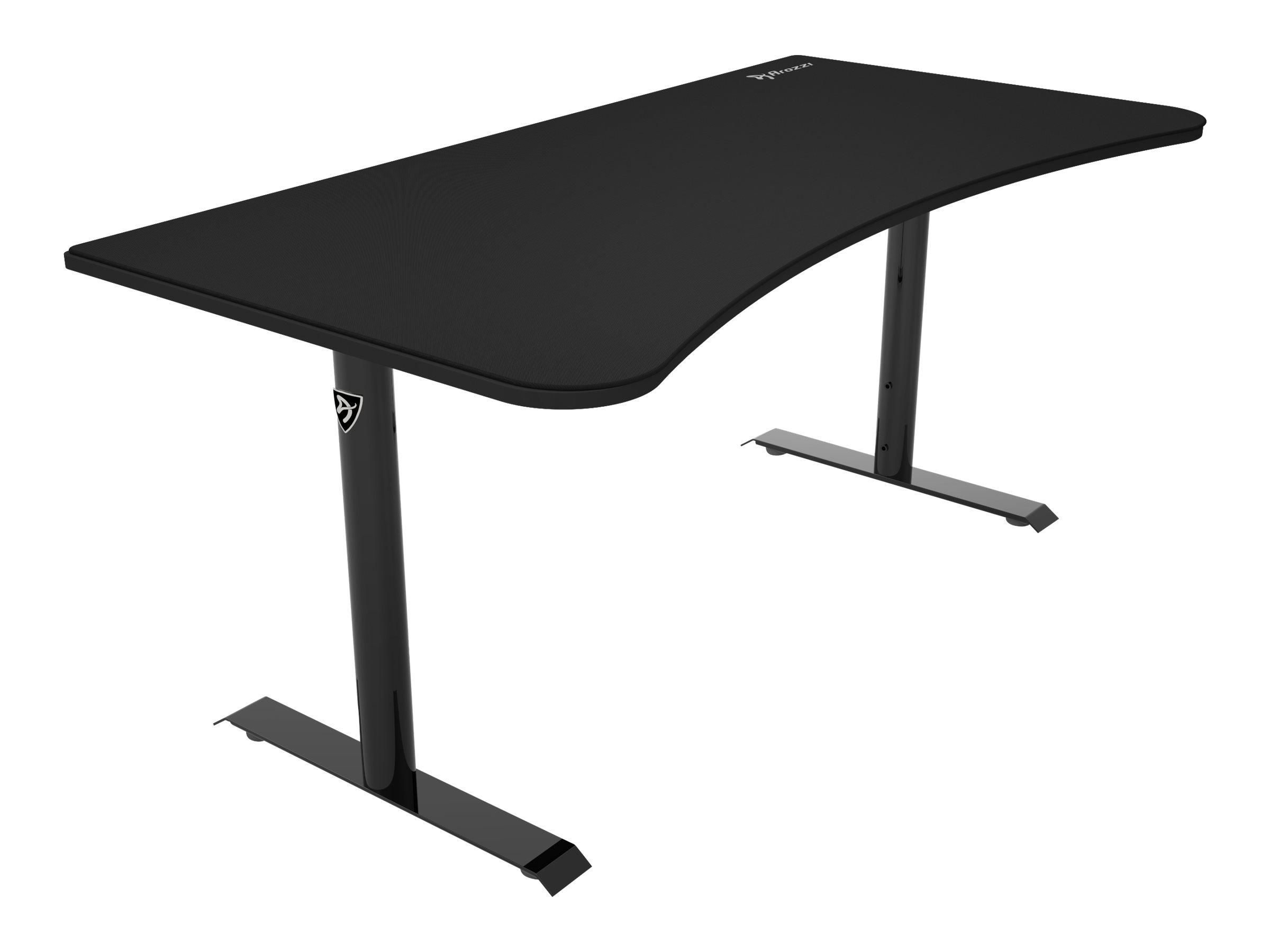 Arozzi Arena - Tisch - gebogen - Pure Black