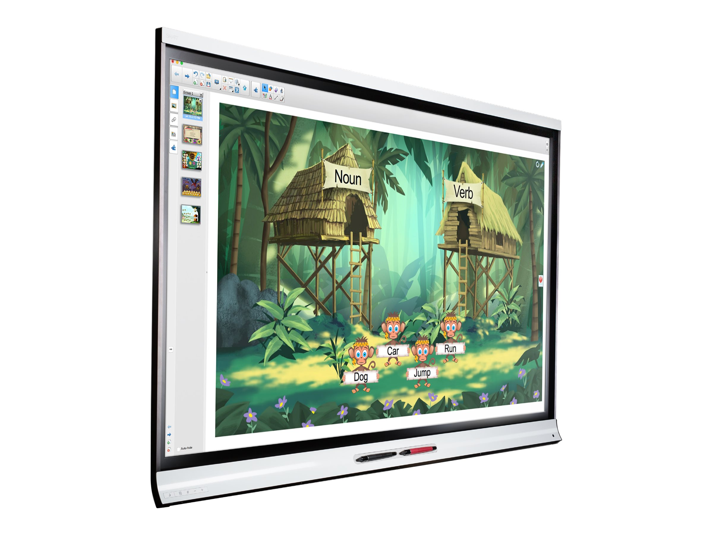 SMART Board 6265-V2 interactive flat panel with iQ - 165.1 cm (65