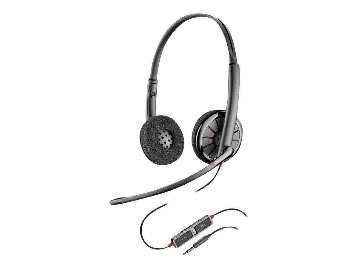 Plantronics Blackwire C225 - Headset - On-Ear - kabelgebunden - 3,5 mm Stecker