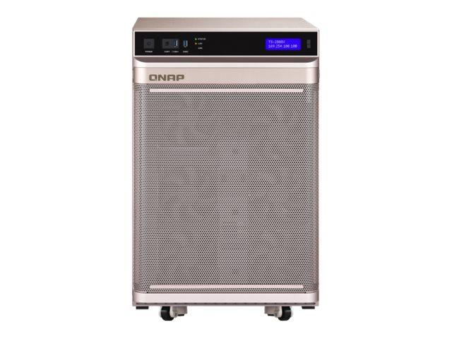 QNAP TS-2888X - NAS-Server - 28 Schächte - SATA 6Gb/s - RAID 0, 1, 5, 6, 10, 50, JBOD, 5 Hot Spare, 6 Hot Spare, 60, 50 Hot Spar