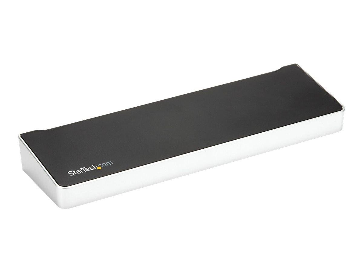 StarTech.com 4K USB-C Dock - Triple Monitor - Mac & Windows - 60W USB PD (DK30CH2DPPDU) - Dockingstation - USB-C