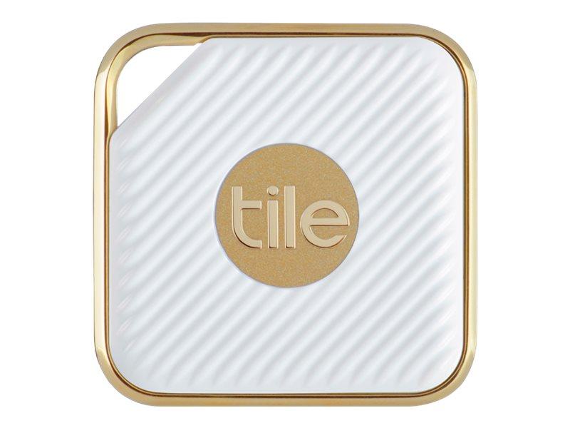 Tile Style - Pro Series - Drahtlos-Sicherheits-Tag - weiss, Champagnerfarben (Packung mit 2)