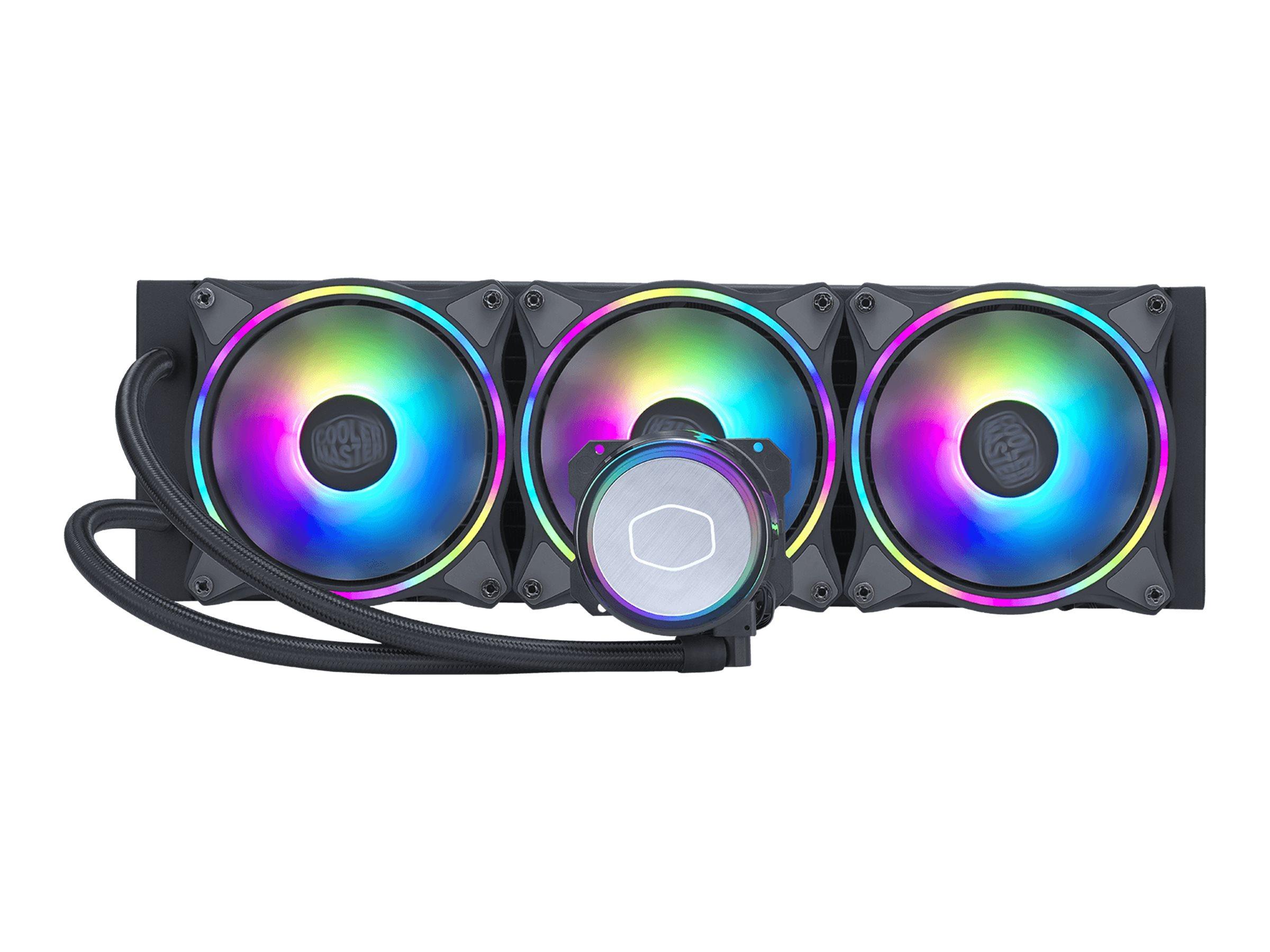 Cooler Master MasterLiquid ML360 Illusion - Prozessor-Flüssigkeitskühlsystem - Kühlergrösse: 360 mm - (für: LGA1156, AM2, AM2+,