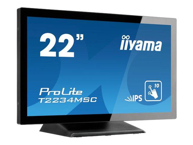iiyama ProLite T2234MSC-B6X - LED-Monitor - 55 cm (21.5