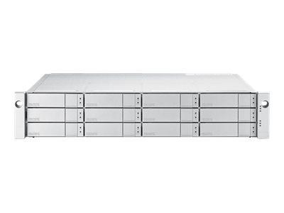 Promise VTrak E5300FD - Festplatten-Array - 120 TB - 12 Schächte (SATA-600 / SAS-3) - HDD 10 TB x 12 - 16Gb Fibre Channel (exter