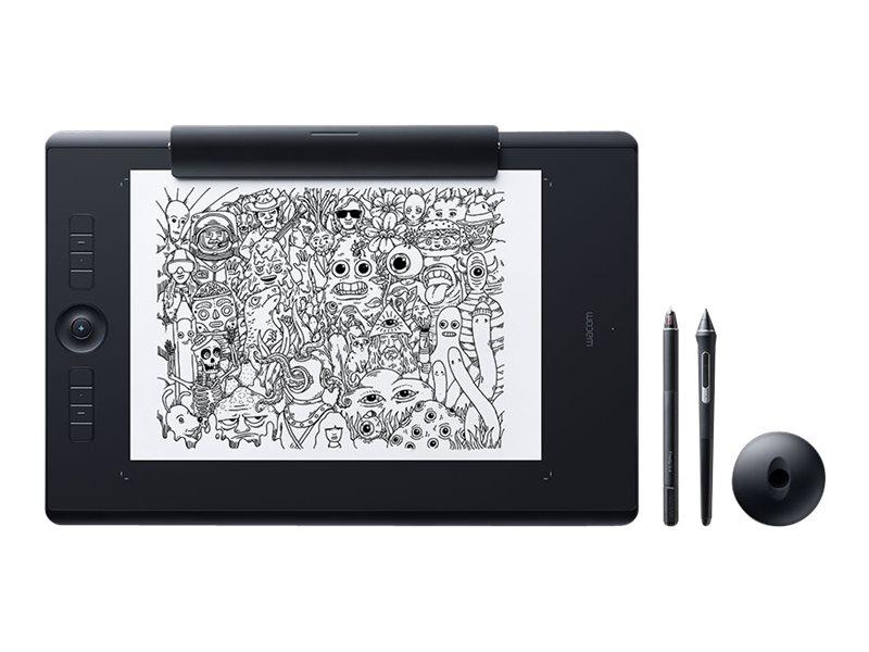 Wacom Intuos Pro Paper Edition Large - Digitalisierer - 31.1 x 21.6 cm - Multi-Touch - elektromagnetisch - kabellos, kabelgebund