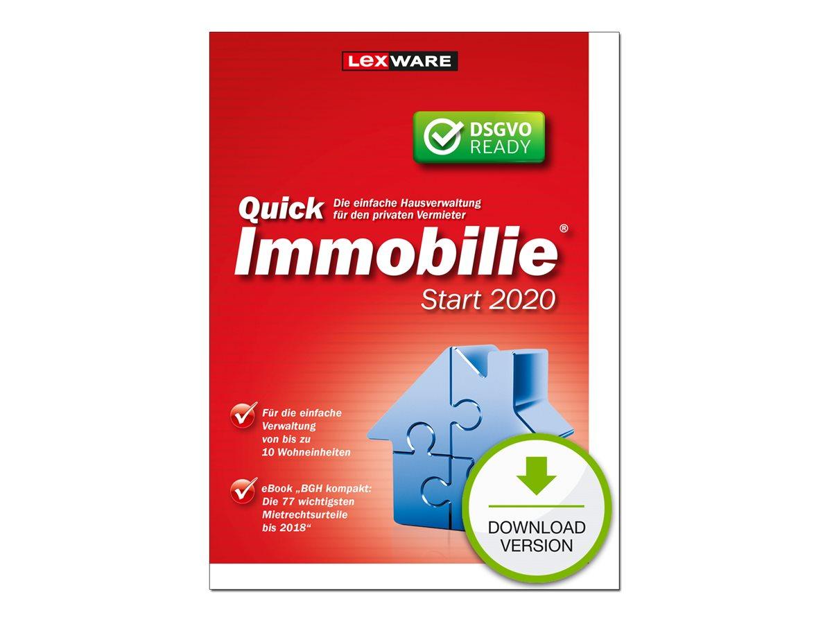 QuickImmobilie Start 2020 - (v. 20.00) - Lizenz - bis zu 10 Einheiten - Download - ESD