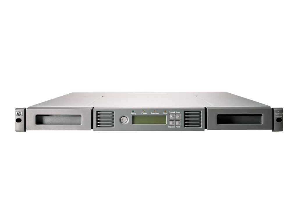 HPE StorageWorks 1/8 G2 Tape Autoloader Ultrium 3000 - Tape Autoloader - 12 TB / 24 TB - Steckplätze: 8 - LTO Ultrium (1.5 TB /