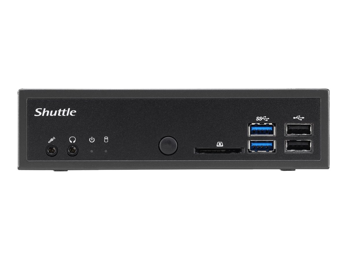 Shuttle XPC slim DH310 - Barebone - Slim-PC - LGA1151 Socket - Intel H310 - GigE