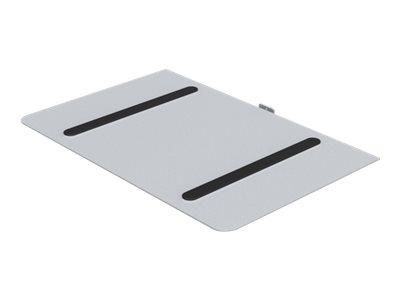 HAGOR M Public Codec Shelf - Montagekomponente (Regal) für AV-System - Silber - am Wagen montierbar
