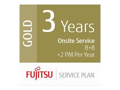 Fujitsu Scanner Service Program 3 Year Gold Service Plan for Fujitsu Low-Volume Production Scanners - Erweiterte Servicevereinba