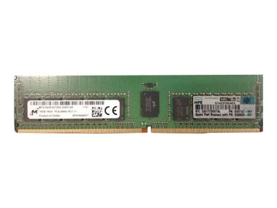 HPE - DDR4 - 16 GB - DIMM 288-PIN - 2666 MHz / PC4-21300 - 1.2 V