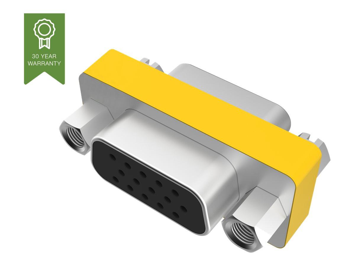 Vision Techconnect TC-VGAFF - Videokoppler - HD-15 (VGA) (W) bis HD-15 (VGA) (W) - 300 V - Distanzschrauben - Metall