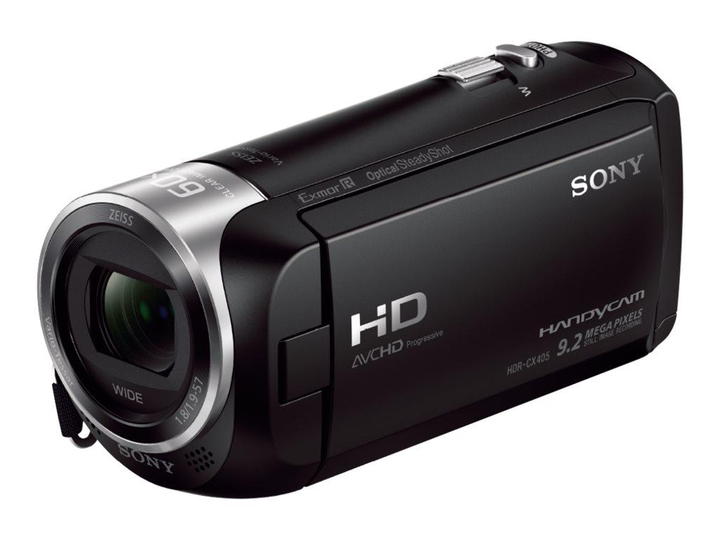 Sony Handycam HDR-CX405 - Camcorder - 1080p - 2.51 MPix - 30x optischer Zoom - Carl Zeiss
