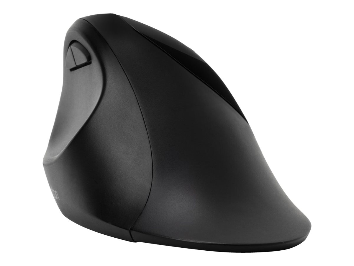 Kensington Pro Fit Ergo Wireless Mouse - Maus - ergonomisch - 5 Tasten - kabellos - 2.4 GHz, Bluetooth 4.0 LE