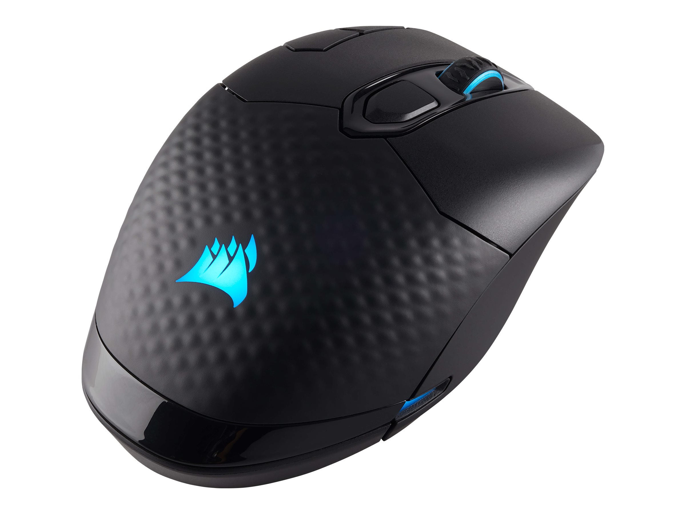 CORSAIR Gaming DARK CORE RGB SE - Maus - optisch - 9 Tasten - kabellos, kabelgebunden - Bluetooth 4.2 LE