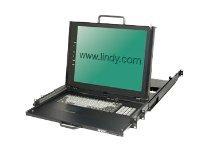 Lindy KVM Terminal PRO 17 - KVM-Konsole - PS/2, USB - 43.8 cm (17
