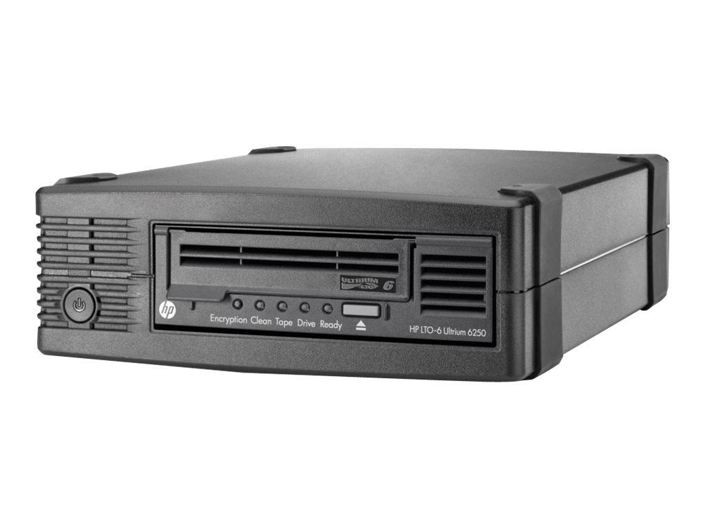 HPE StoreEver 6250 - Bandlaufwerk - LTO Ultrium (2.5 TB / 6.25 TB) - Ultrium 6 - SAS-2 - extern