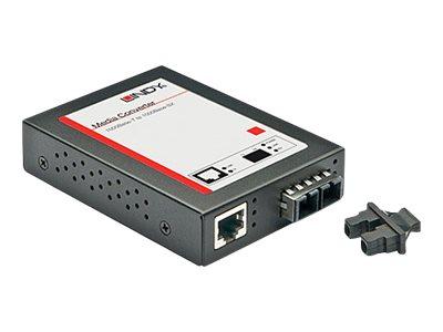LINDY - Medienkonverter - GigE - 1000Base-SX, 1000Base-T - RJ-45 / SC multi-mode - bis zu 550 m