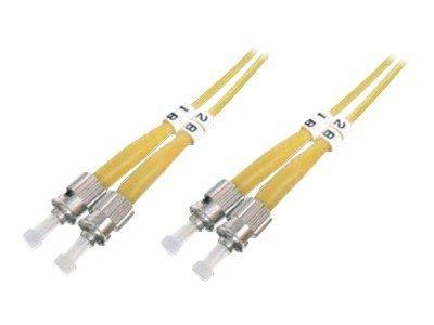 DIGITUS - Patch-Kabel - ST Einzelmodus (M) bis ST Einzelmodus (M) - 1 m - Glasfaser - 9/125 Mikrometer