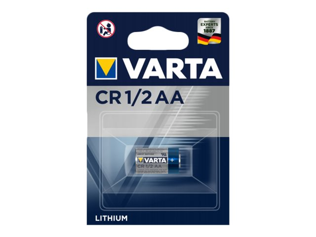 Varta CR 1/2 AA - Batterie CR1/2AA - Li - 700 mAh