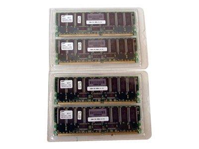 HPE - DDR - 1 GB: 4 x 256 MB - DIMM 184-PIN - 200 MHz / PC1600 - registriert