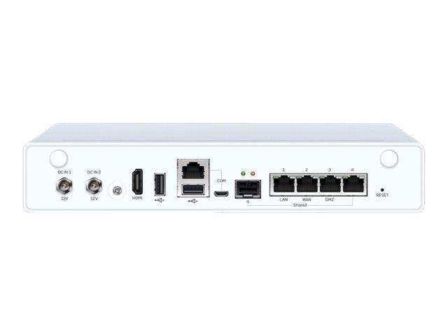 Sophos XG 106 - Rev 1 - Sicherheitsgerät - mit 2 Jahre TotalProtect - GigE - Desktop