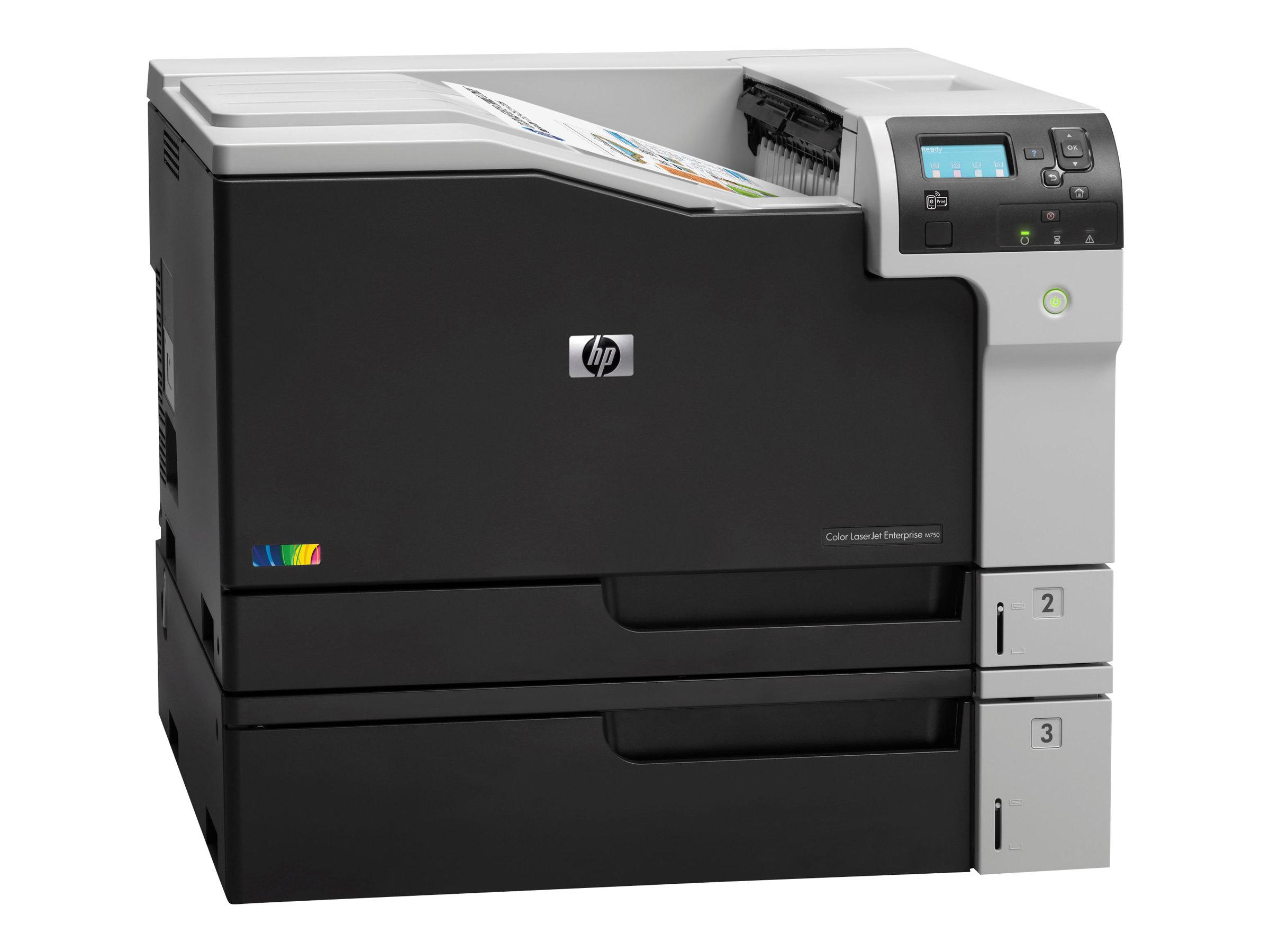 HP Color LaserJet Enterprise M750dn - Drucker - Farbe - Duplex - Laser - A3/Ledger