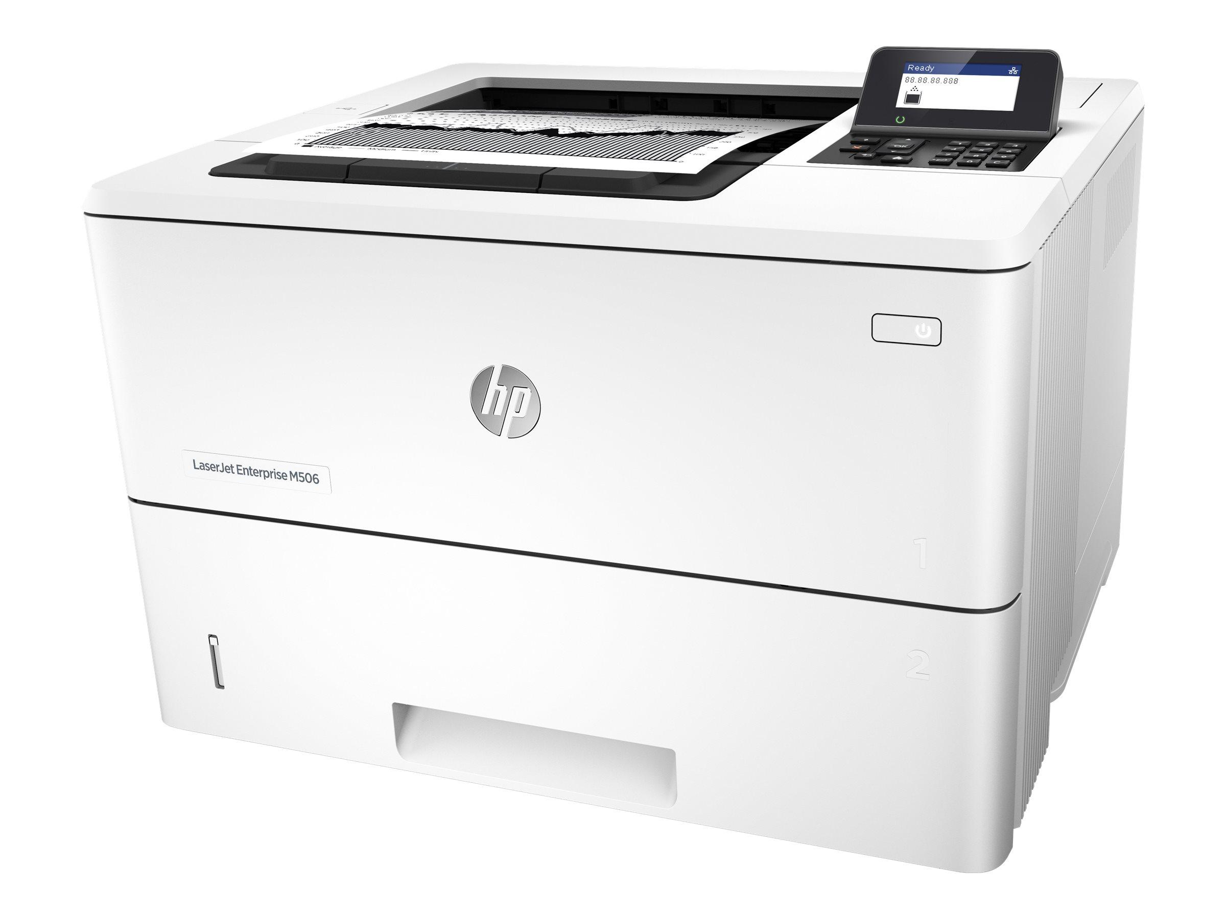 HP LaserJet Enterprise M506dn - Drucker - monochrom - Duplex - Laser - A4/Legal