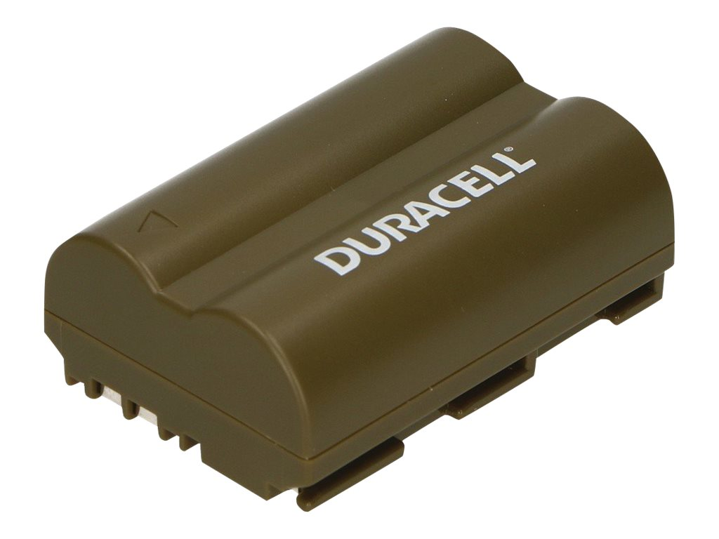 Duracell DRC511 - Camcorder-Batterie - Li-Ion - 1400 mAh - Schwarz - für Canon MV300, ZR10, ZR20, ZR25, ZR30, ZR40, ZR45, ZR50,