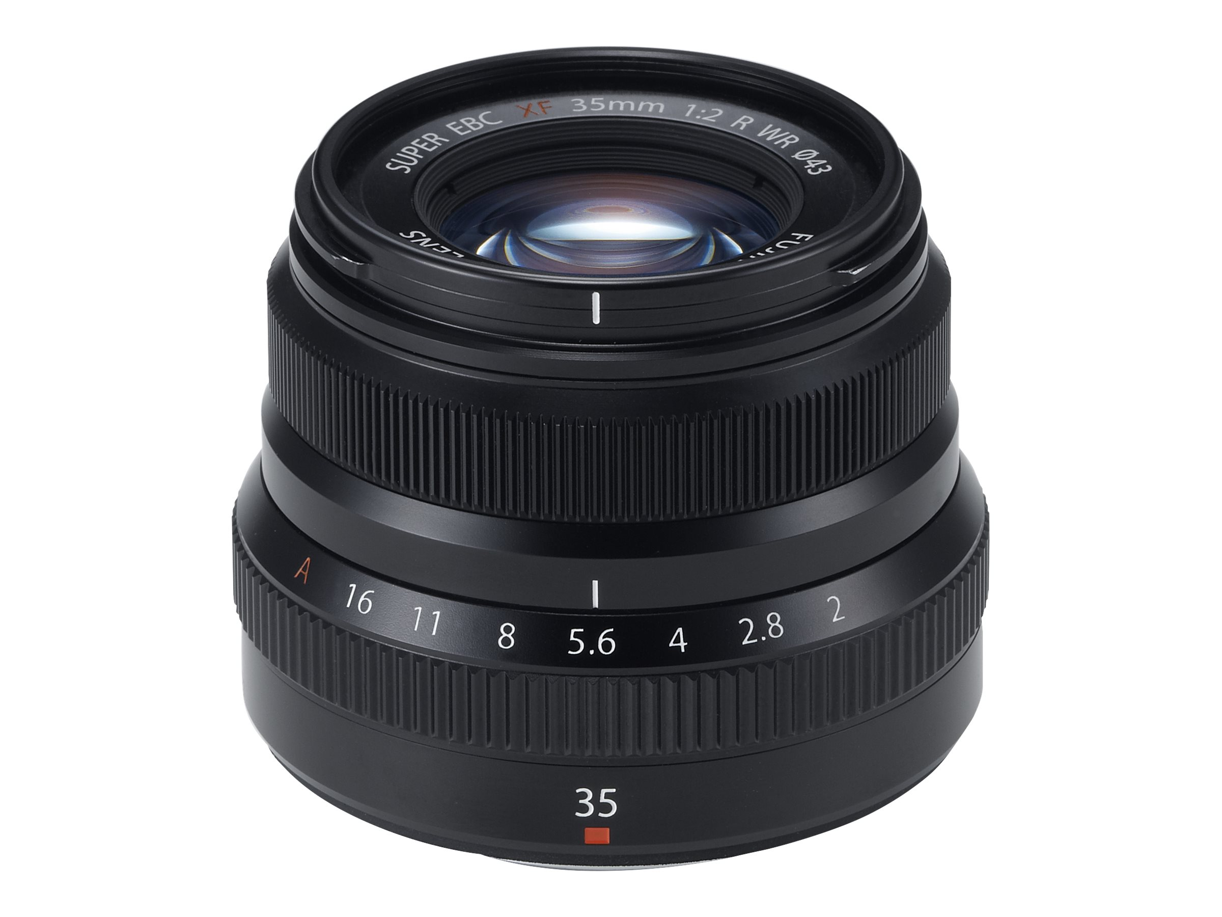 Fujinon XF - Objektiv - 35 mm - f/2.0 R WR - Fujifilm X Mount - für X Series X-A10, X-A3, X-A5, X-E3, X-H1, X-T100, X-T3, X-T30