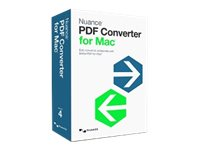 Kofax PDF Converter for Mac - (v. 4) - Lizenz - 1 Benutzer - academic - Download