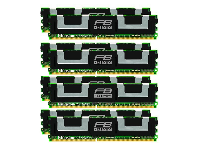 Kingston - DDR2 - 64 GB: 8 x 8 GB - FB-DIMM 240-pin - 667 MHz / PC2-5300 - Voll gepuffert