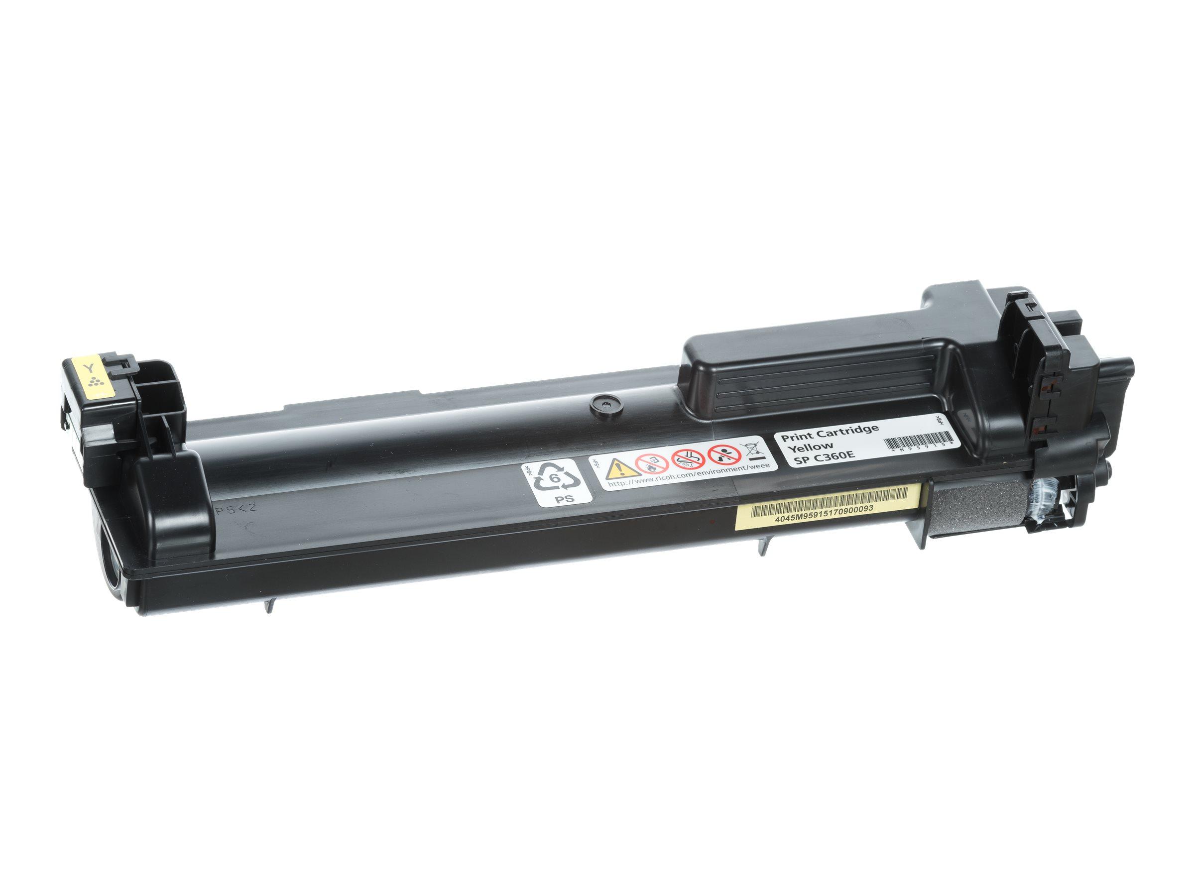 Ricoh SP C360E - Gelb - Original - Tonerpatrone - für Ricoh SP C360DNw