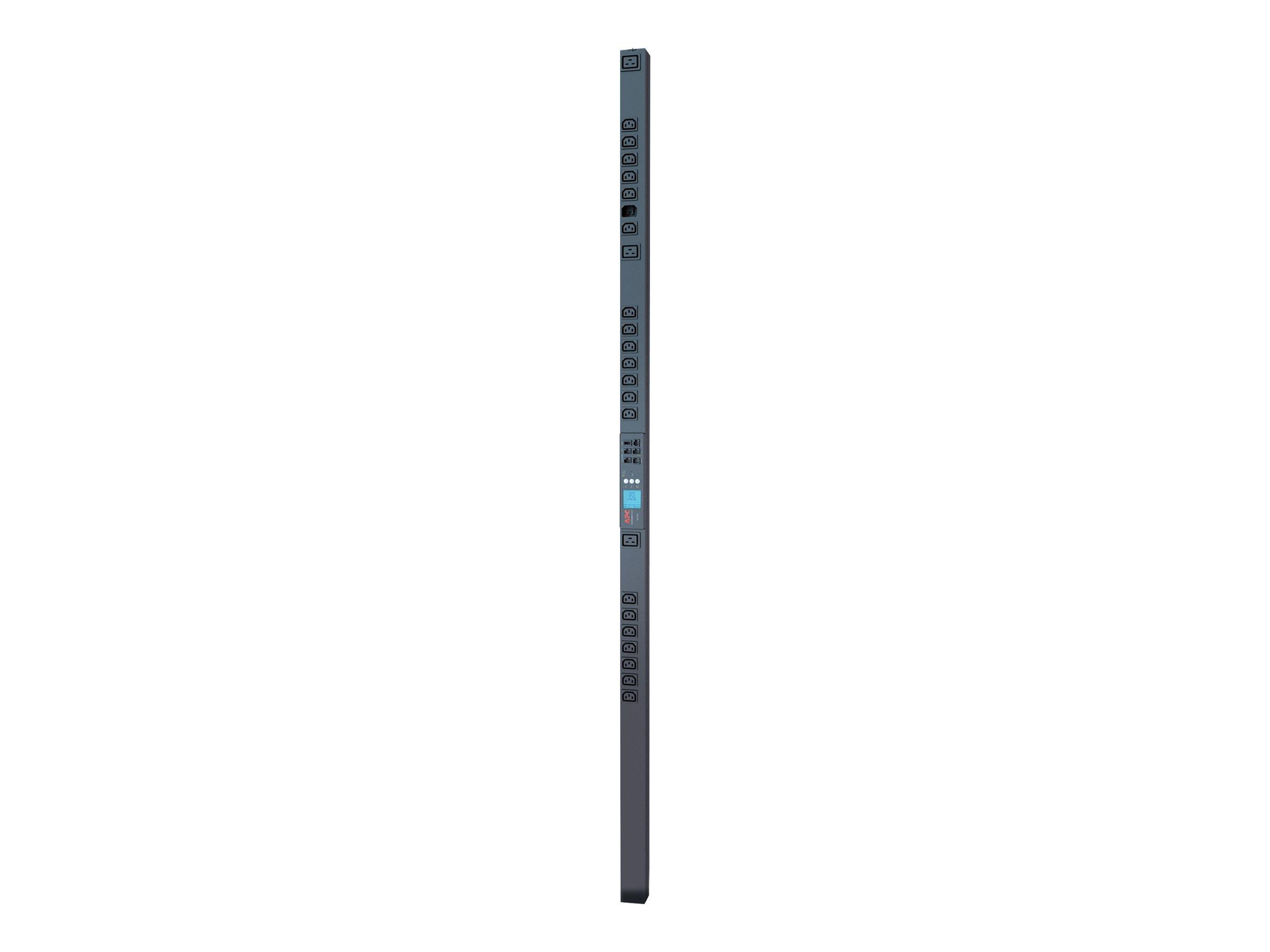 APC Metered-by-Outlet Rack PDU 2G - Stromverteilungseinheit (Rack - einbaufähig) - Wechselstrom 200/208/230 V - Ethernet - Einga