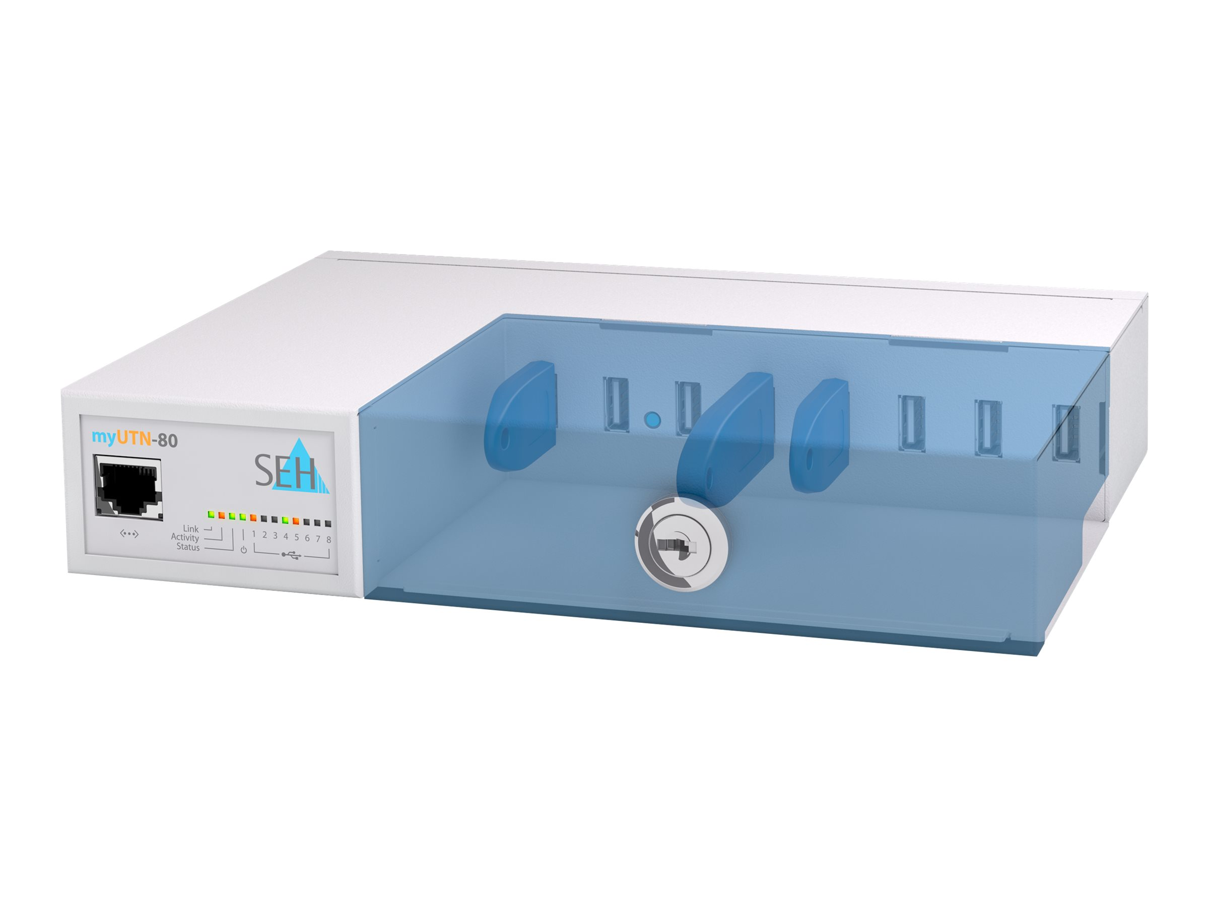 SEH myUTN-80 - Geräteserver - 100Mb LAN, USB 2.0