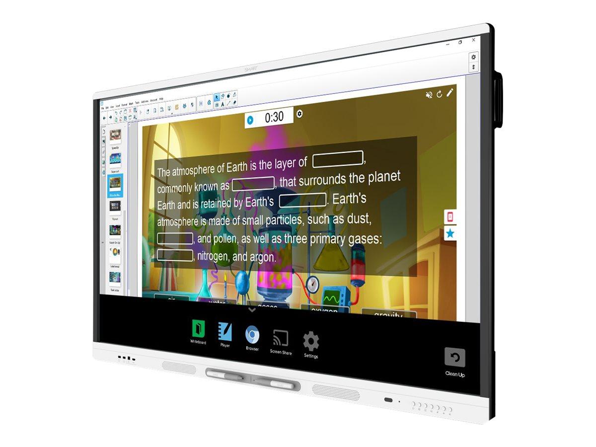 SMARTBoard MX286 interactive display with iQ - 218.4 cm (86
