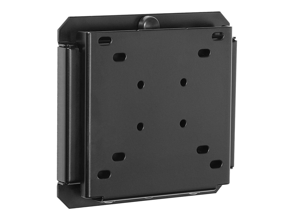 Peerless SmartMount Universal Flat Wall Mount SF630P - Befestigungskit (Wandplatte, Montage-Adapter) für LCD-Display - Schwarz (
