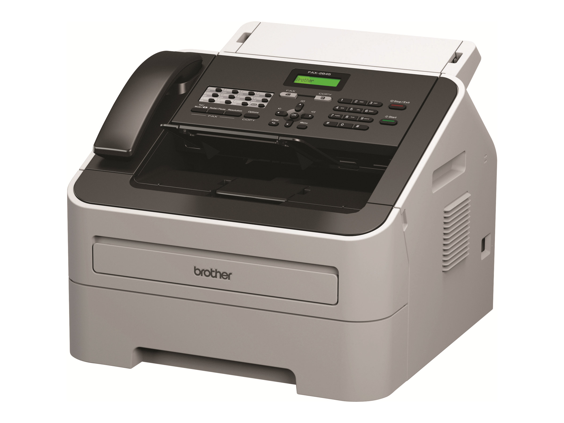 Brother FAX-2845 - Faxgerät / Kopierer - s/w - Laser - 216 x 406.4 mm (Medien) - 250 Blatt
