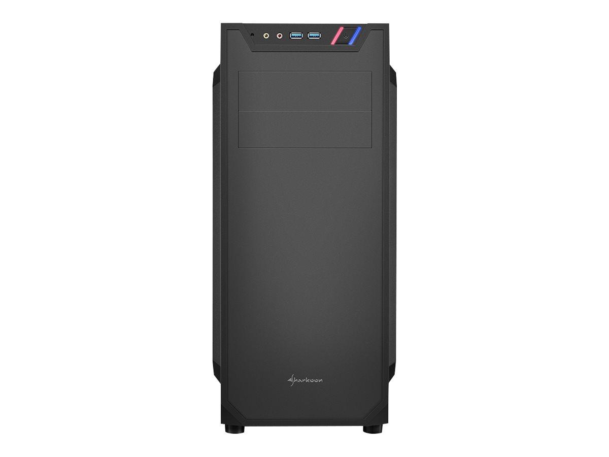 Sharkoon VS7 - Tower - ATX - ohne Netzteil - USB/Audio