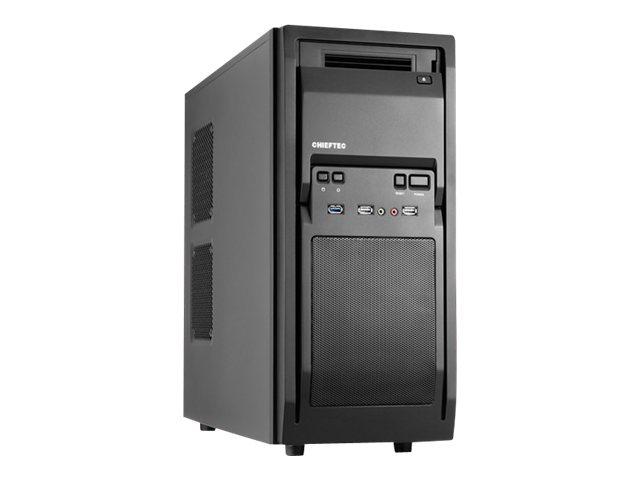 Chieftec LIBRA Series LF-02B - Tower - ATX - ohne Netzteil - Schwarz - USB/Audio