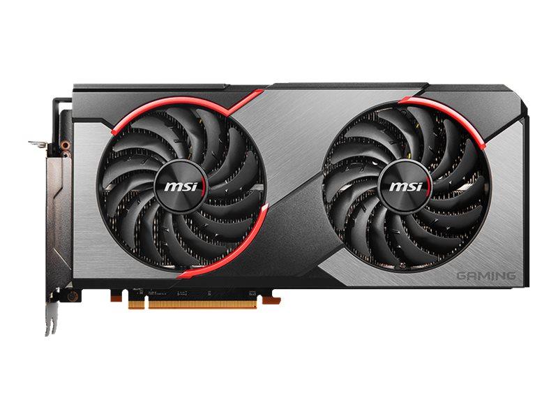 MSI RX 5700 GAMING X - Grafikkarten - Radeon RX 5700 - 8 GB GDDR6 - PCIe 4.0 x16 - HDMI, 3 x DisplayPort