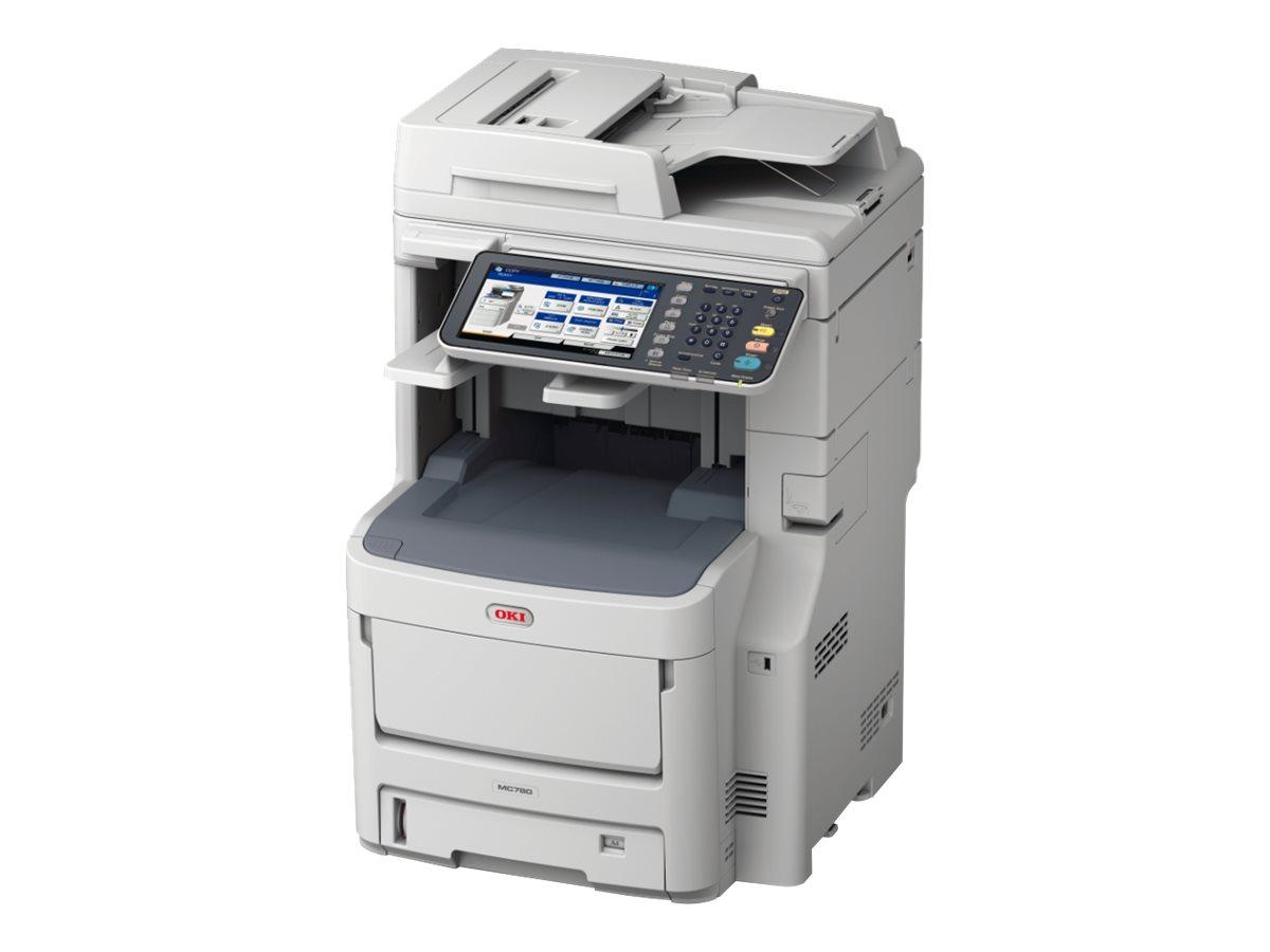 OKI MC780dfnfax - Multifunktionsdrucker - Farbe - LED - A4 (210 x 297 mm) (Original) - A4 (Medien)